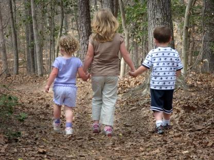 Kids at Pocahontas State Park